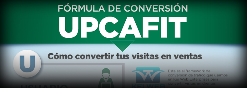 UPCAFIT: El framework (o fórmula) que convertirá tus visitas en ventas
